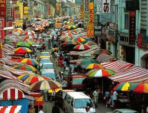 Kuala Lumpur Chinatown shopping
